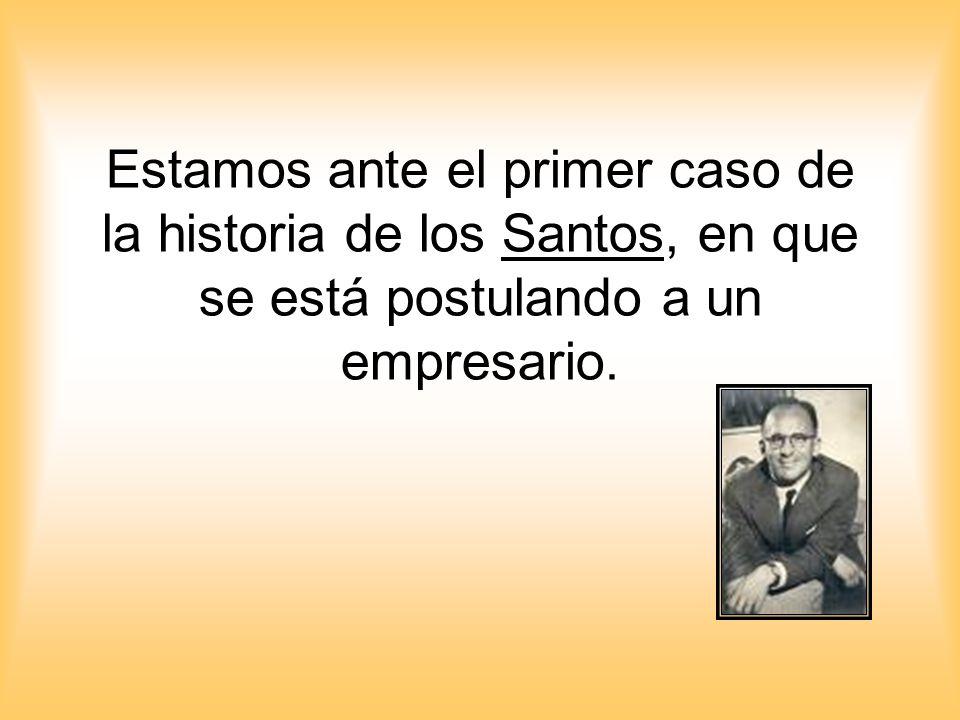 Estamos ante el primer caso de la historia de los Santos, en que se está postulando a un empresario.