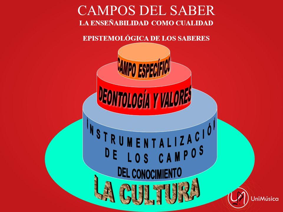 CAMPOS DEL SABER LA ENSEÑABILIDAD COMO CUALIDAD EPISTEMOLÓGICA DE LOS SABERES