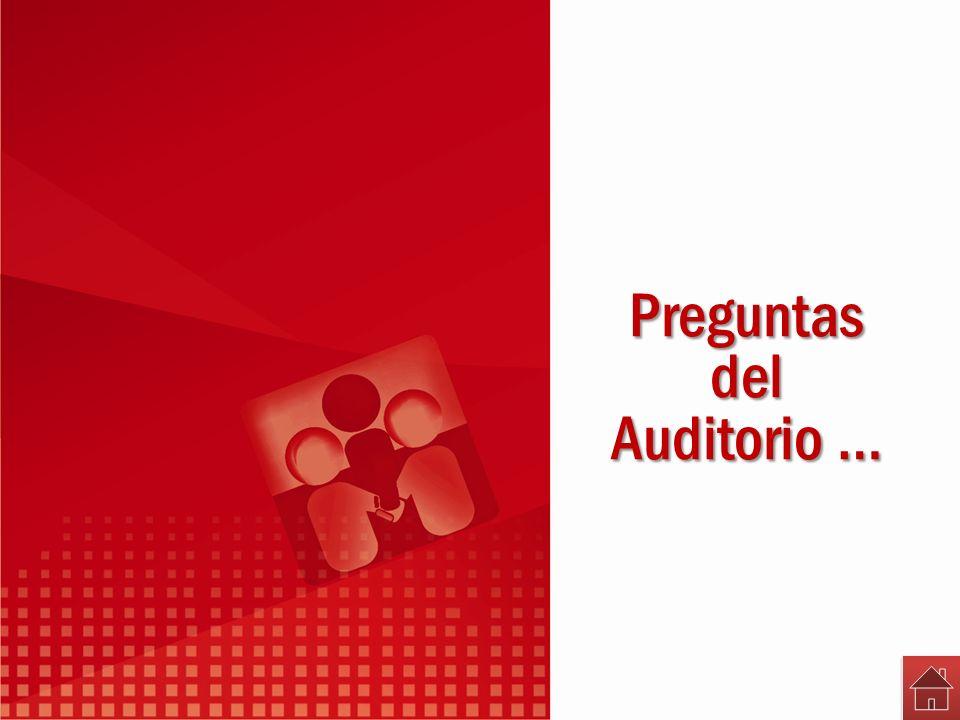 Preguntasdel Auditorio …