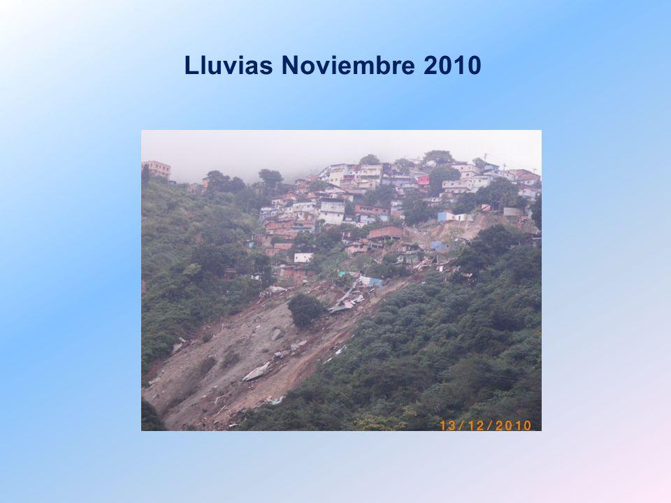 Lluvias Noviembre 2010