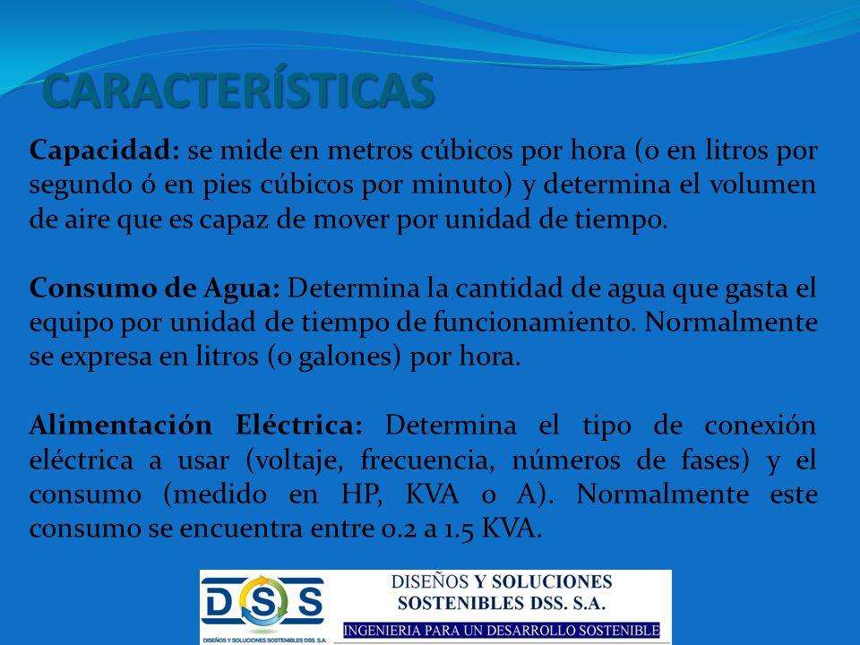 CARACTERÍSTICAS (2) Tipo de instalación: se distingue entre equipos móviles (portátiles) y equipos fijos.