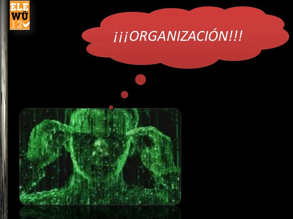 ¡¡Organización!.