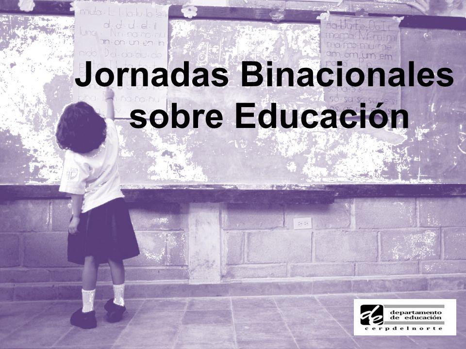 Jornadas Binacionales sobre Educación