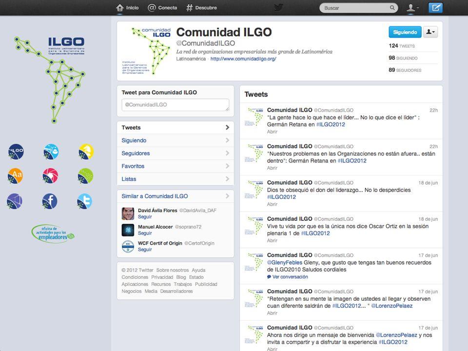 Las Redes Sociales en la Comunidad ILGO
