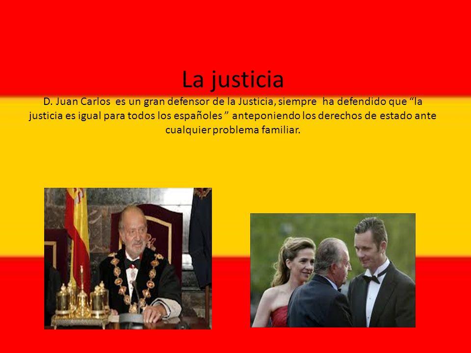 La justicia D.