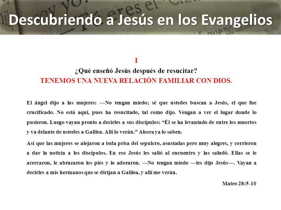 Jesús le dijo: ¿Por qué lloras, mujer.¿A quién buscas.