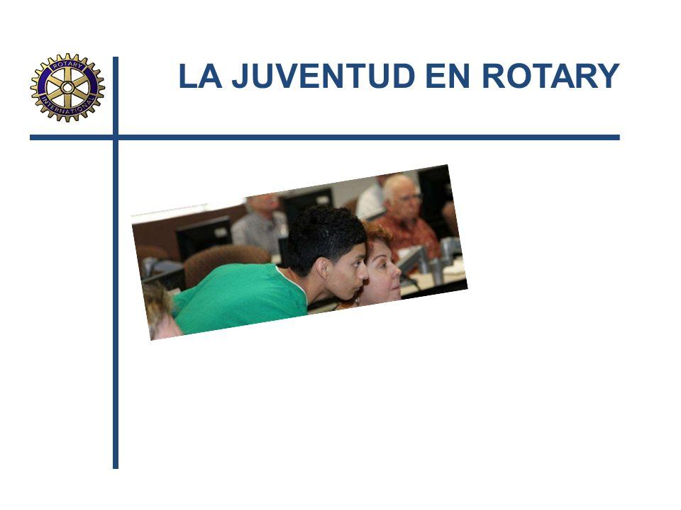 LA JUVENTUD EN ROTARY
