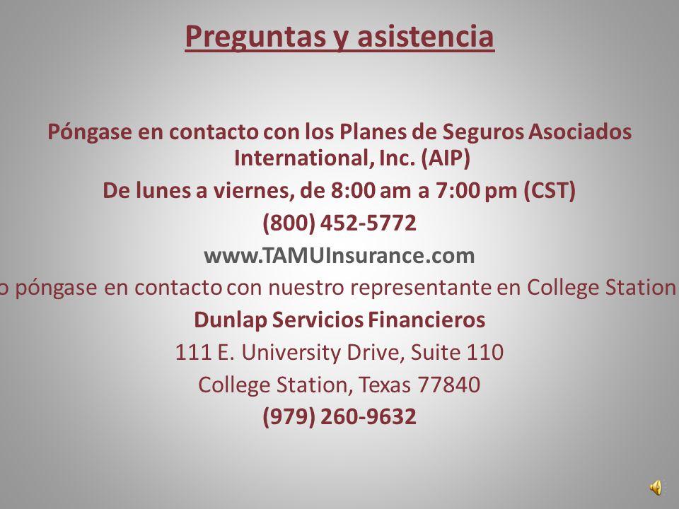 Información disponible en: www.TAMUInsurance.com Descripción de la cobertura Tarjeta de Identificación Red de Proveedores Preferidos Look-up Procedimi
