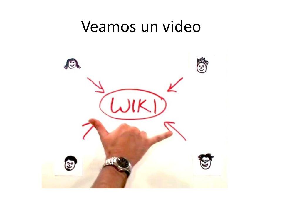 Veamos un video