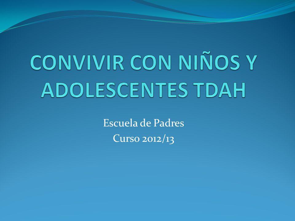 Escuela de Padres Curso 2012/13