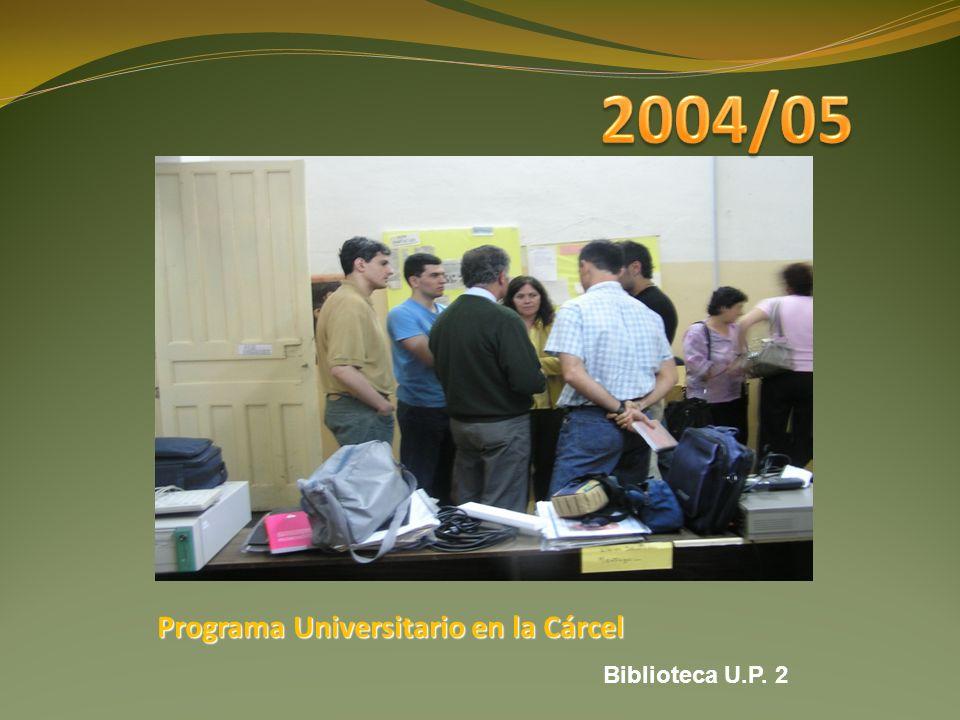 Programa Universitario en la Cárcel Biblioteca U.P. 2