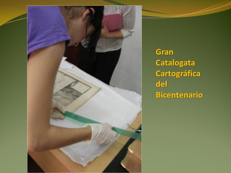 Gran Catalogata Cartográfica del Bicentenario