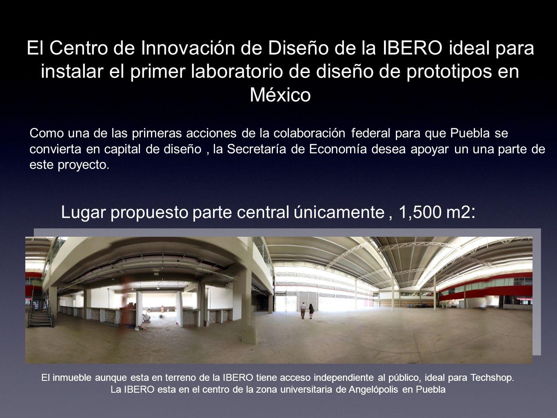 El Centro de Innovación de Diseño de la IBERO ideal para instalar el primer laboratorio de diseño de prototipos en México Como una de las primeras acc