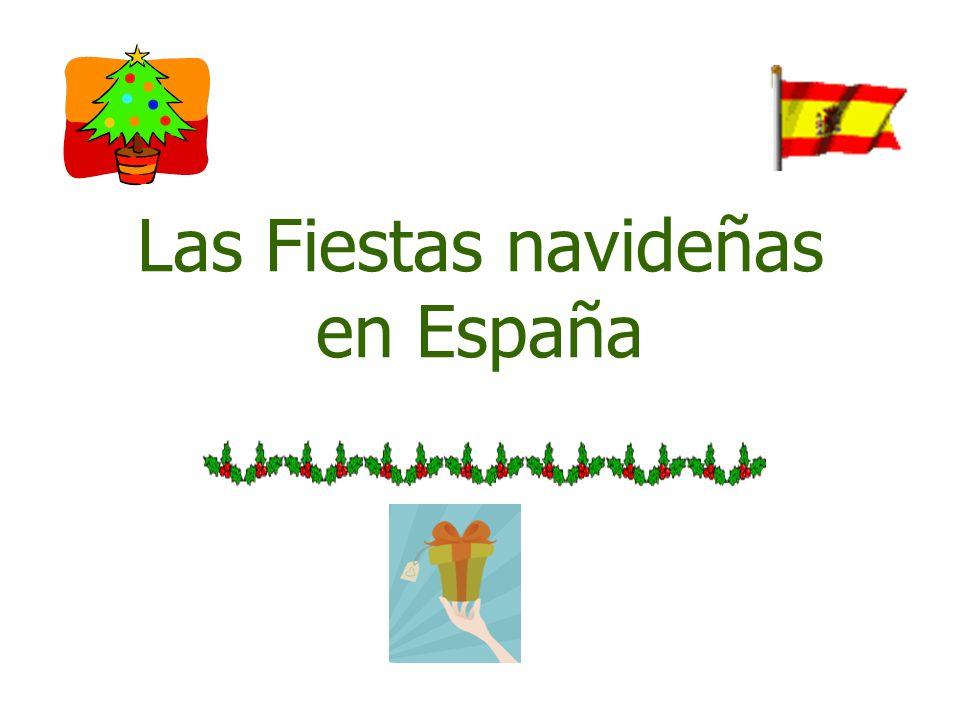 Las Fiestas navideñas en España