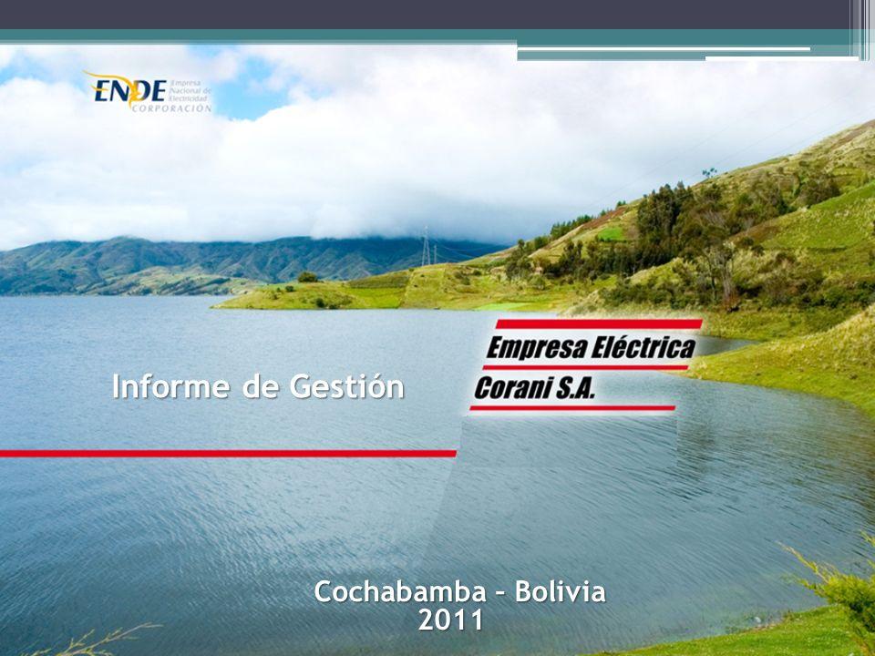 Informe de Gestión Cochabamba – Bolivia Cochabamba – Bolivia2011