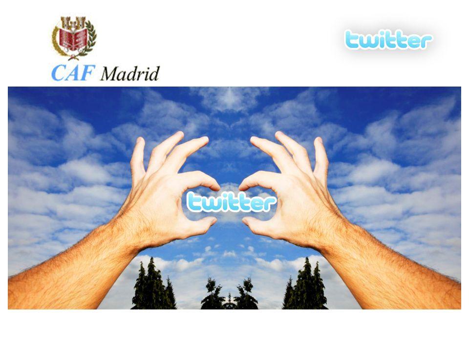Escoger una cuenta: @CAFMadrid Nombre corto e identificativo Escoger un avatar: Moderno y llamativo