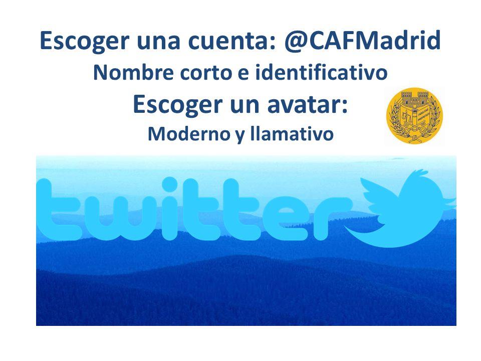 Número de seguidores: 450 @CAFMadrid Madrid Twitter oficial del Colegio de Administradores de Fincas de Madrid.