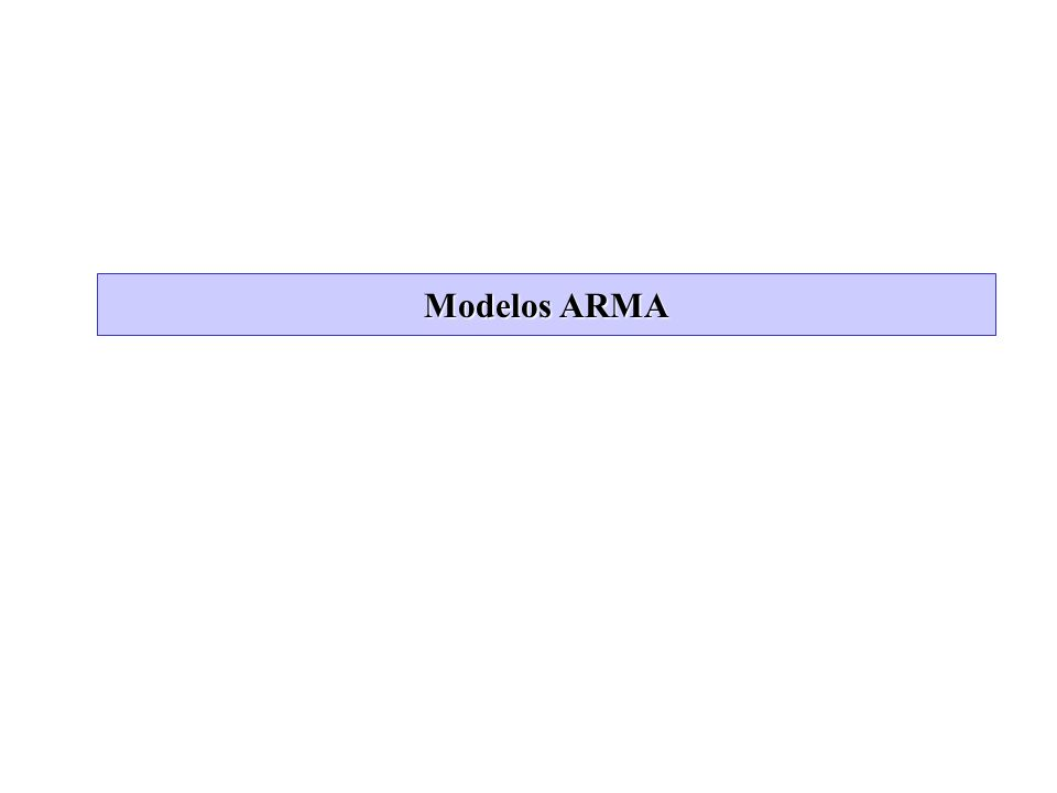 Apendice: Operador Inverso (cont) Supongamos que tenemos el modelo ARMA y queremos encontrar la representacion MA.