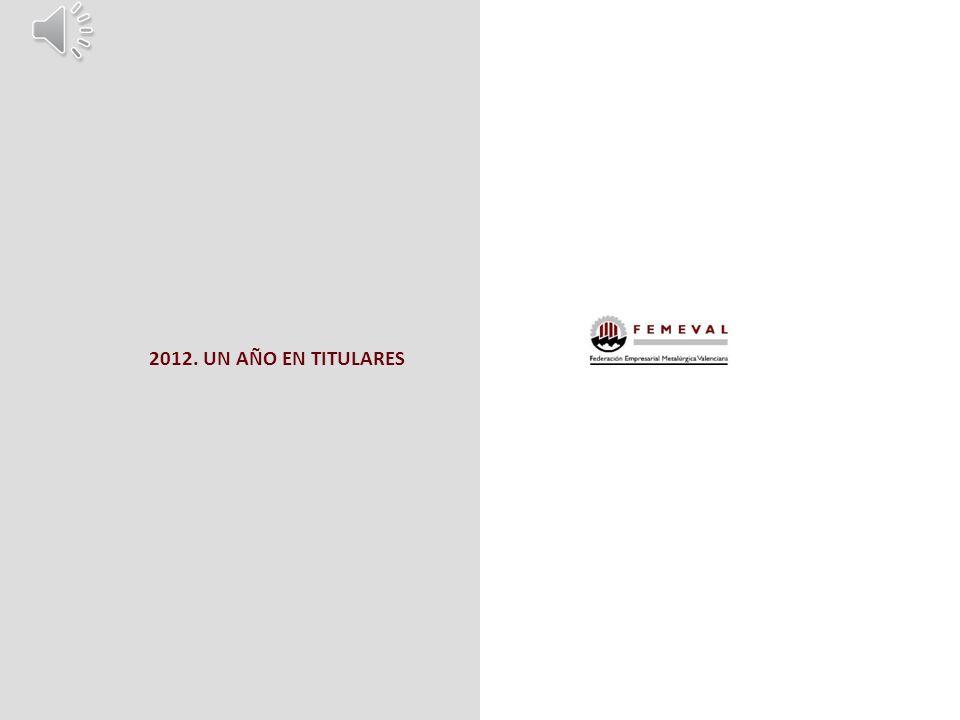 2012. UN AÑO EN TITULARES