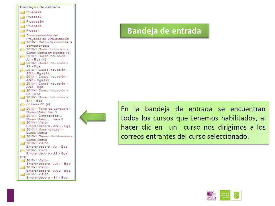 El módulo buscar se utiliza cuando se quiere encontrar algún correo que coincida con una palabra o frase del correo que se está buscando. En este ejem