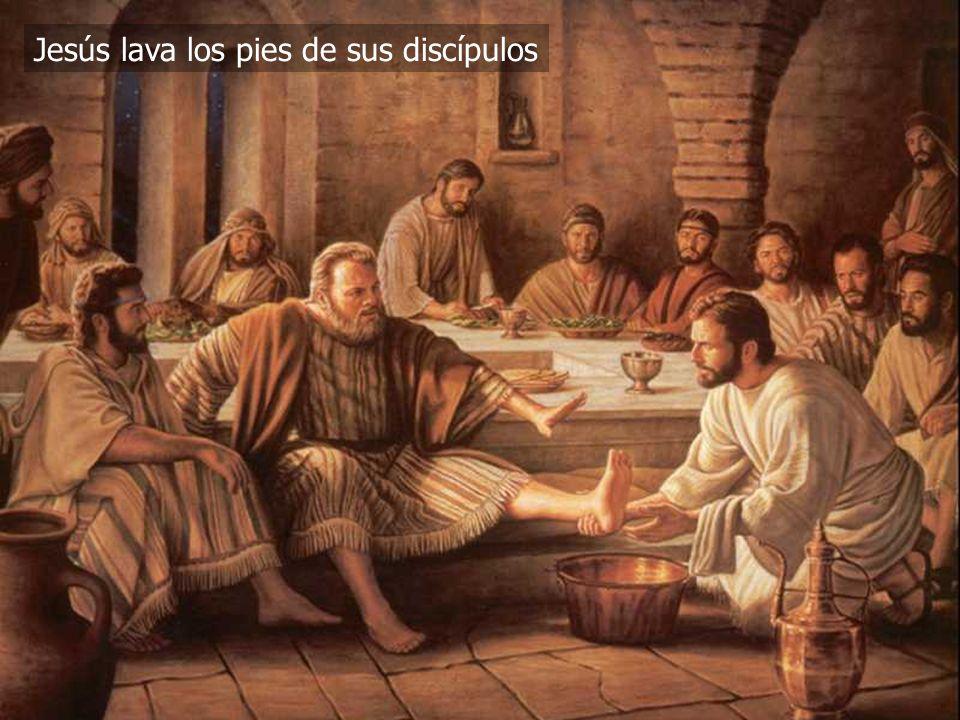 (787) 890-0118 www.iglesiabiblicabautista.org Iglesia Bíblica Bautista de Aguadilla Jesús lava los pies de sus discípulos