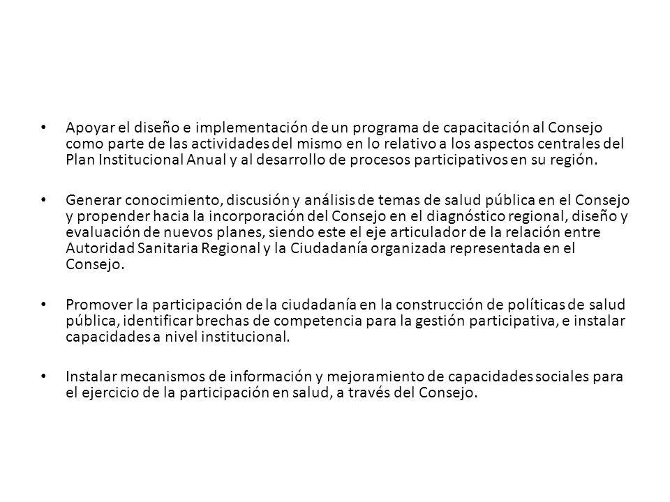 Recomendaciones sobre los roles de los miembros Consejeros.