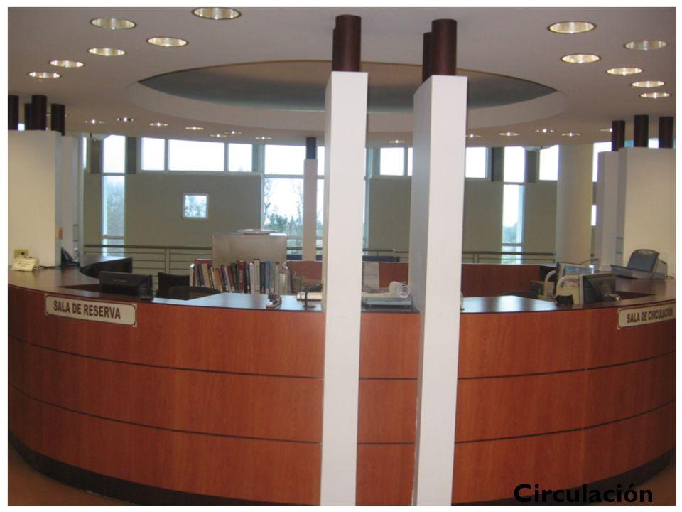Colección de Circulación Se encuentra ubicada en el segundo piso de la Biblioteca. La colección está compuesta de libros adquiridos conforme a las nec