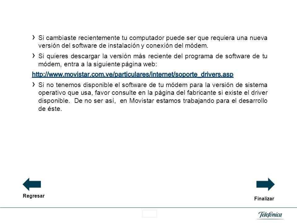 Área Razón Social En el caso de los módems 3G, confirma que existe un perfil de conexión que tenga configurado el APN internet.Movistar.ve. Debes toma