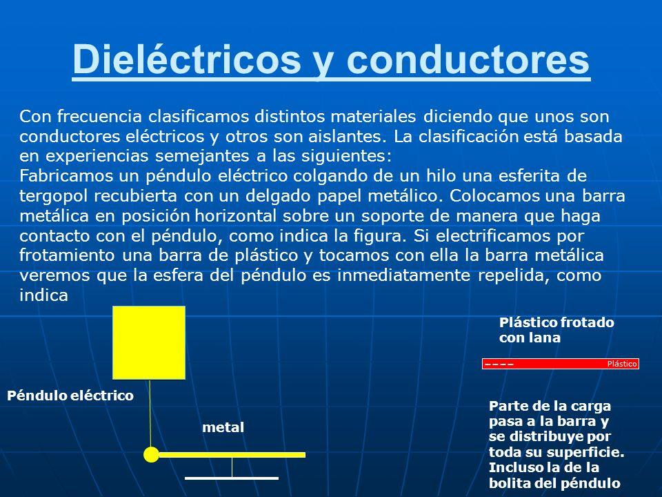 Estructura eléctrica de la materia Un átomo neutro tiene la misma cantidad de protones en el núcleo que electrones orbitando, por esta razón su carga