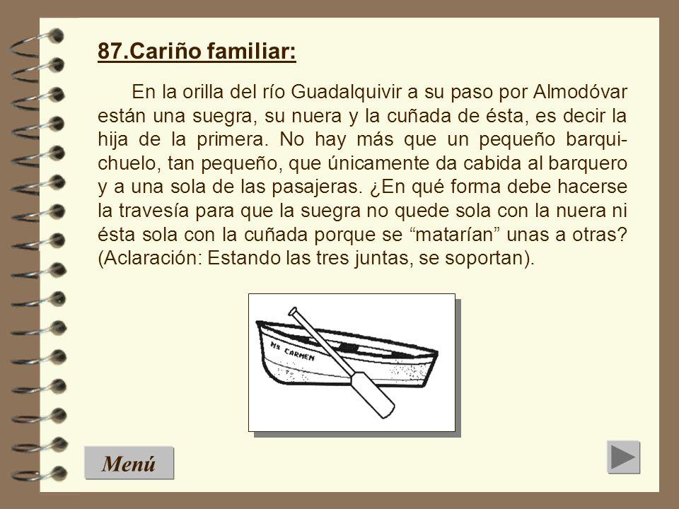 Un cuadrado de ocho cen- tímetros de lado y por tanto 64 cm 2 de superficie, se divide tal y como se indica en la figura siguiente: Con las cuatro pie