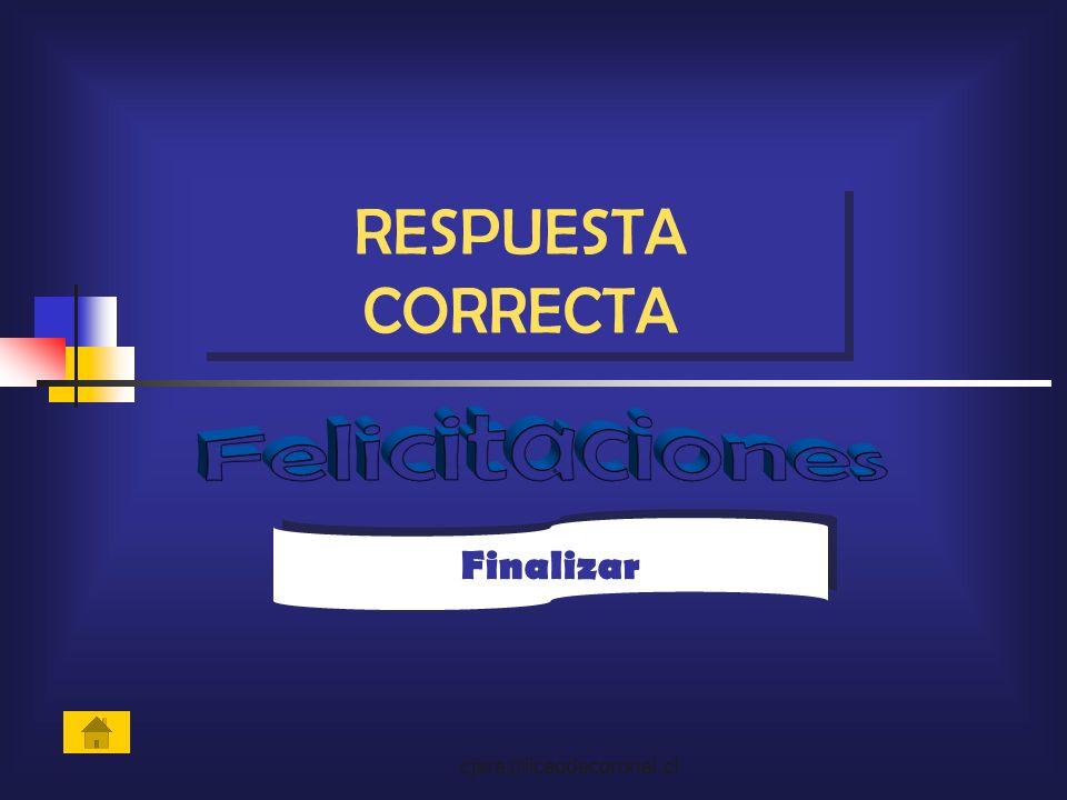 cjara@liceodecoronel.cl Finalizar RESPUESTA CORRECTA