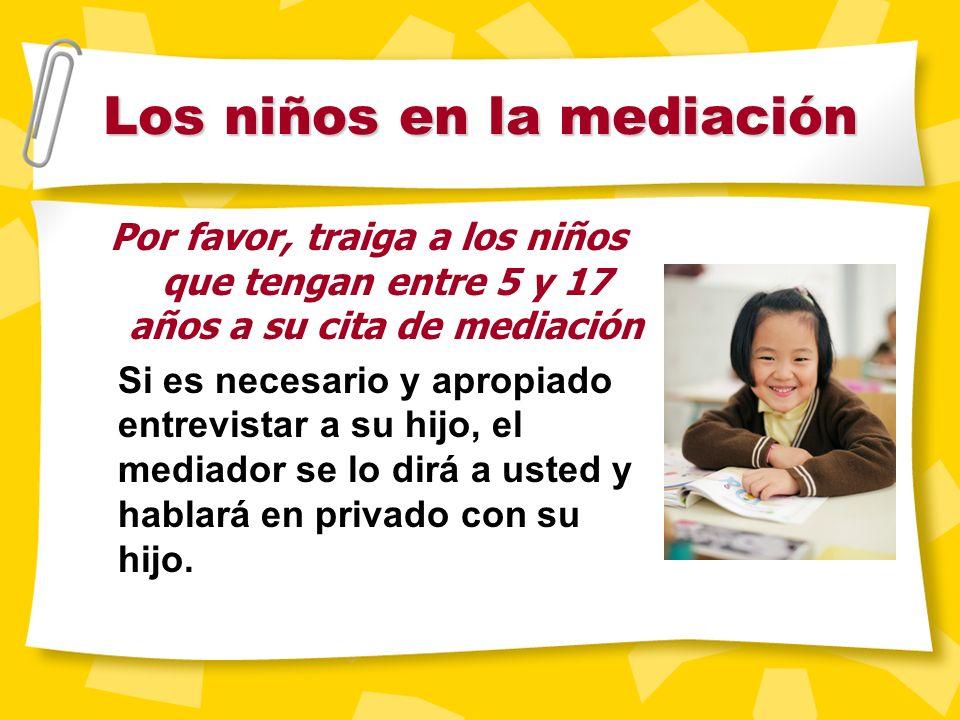 Lo que no se puede hacer en la mediación Hay ciertos asuntos que no se pueden tratar durante la mediaci ó n. Entre ellos est á n: Asesoramiento legal
