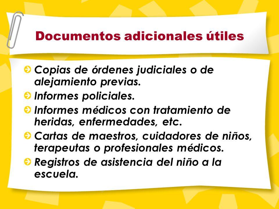 Información adicional Los documentos se pueden notificar mediante una tercera parte que los entregue en persona o los envíe por correo. La tercera par