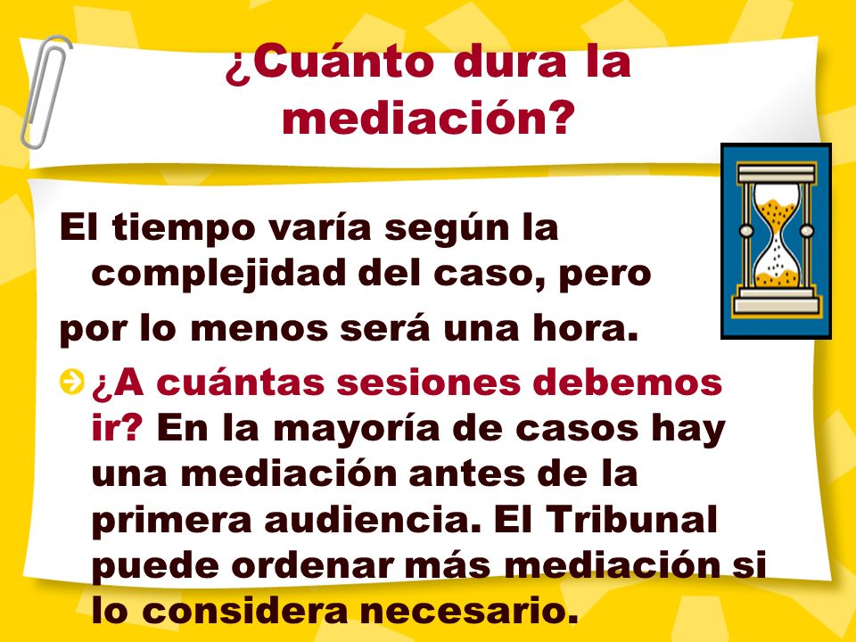 ¿ Mi nueva pareja puede participar en la mediación o ante el Tribunal? Sólo las partes reconocidas como partes o que está legalmente asociadas a la ac
