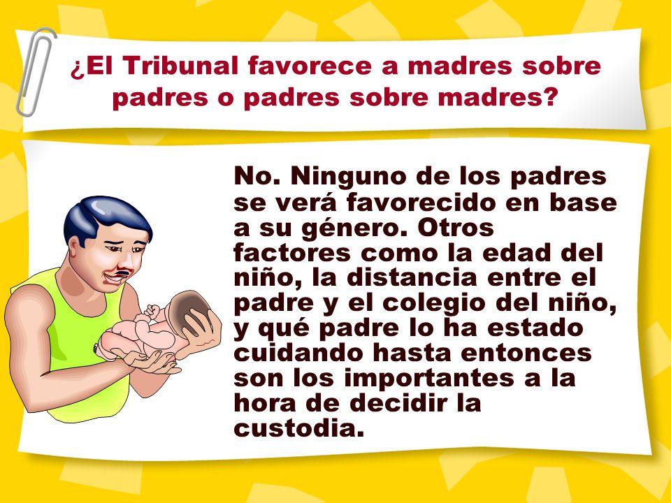 ¿ Puede pasar que el Juez ordene que uno de los padres no pueda ver a su hijo? ¿ Cuándo ocurre esto? Casi nunca. En casos extremos el Tribunal puede p