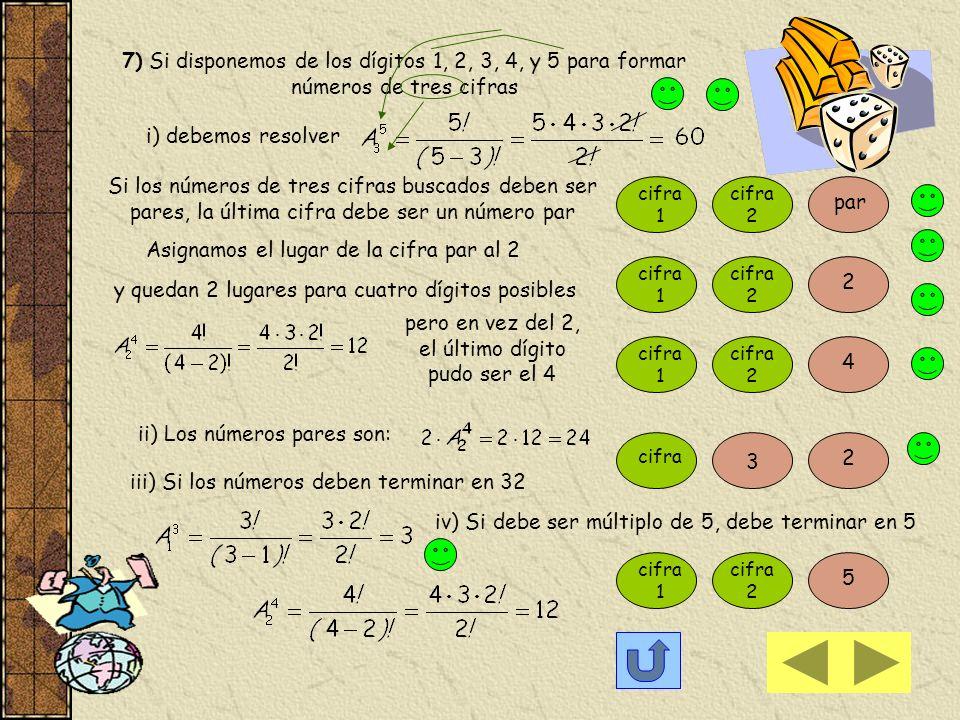 VARIACION ó ARREGLO Si queremos formar números de dos cifras con los dígitos 1, 2 y 3 Resulta que debemos tomar dos de los elementos (dígitos) y forma