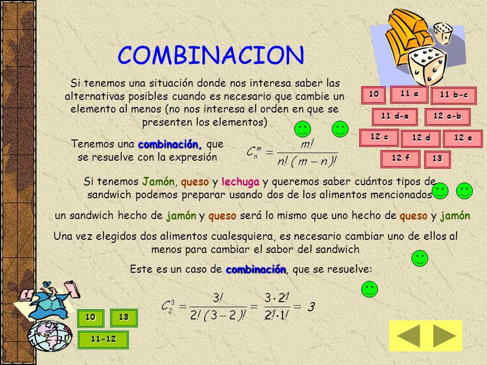 8 b) Si deseo saber en cuántas palabras de 5 letras (que no se repiten) formadas por 22 consonantes y 5 vocales, la letra central es una vocal Podemos