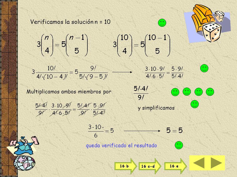 Resolvemos ahora como ecuación de segundo grado a x 2 + b x + c = 0 con la fórmula si a = 1 b = -12 y c = 20 son soluciones de la ecuación adoptamos c