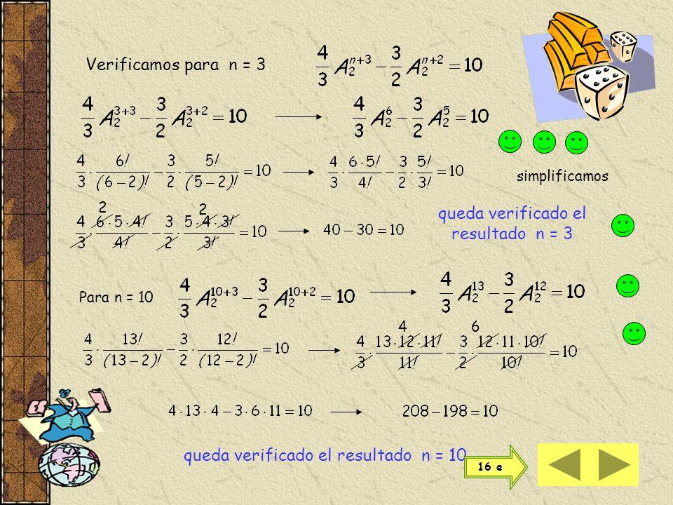 Quedamos con Sacamos factor común Resolvemos el corchete Y finalmente En la ecuación de 2º grado a = -1b = 13c = -30 efectuamos el producto del 1 er m