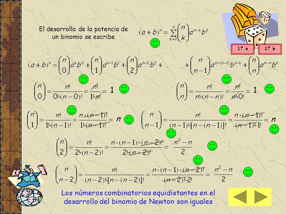 Binomio de Newton Sabemos que el cuadrado de un binomio ( a + b ) 2 se desarrolla a 2 + 2 a b + b 2 y el cubo de un binomio( a + b ) 3 se desarrollaa