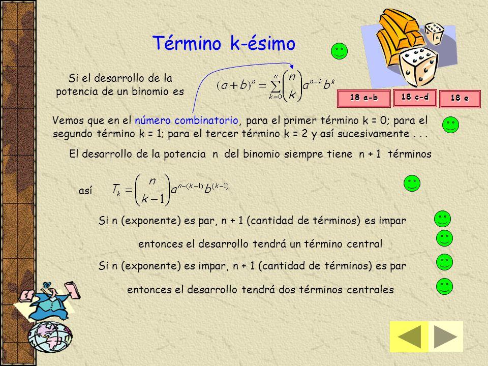 reemplazamos los valores de los números combinatorios hallados en la expresión 8 4 1 1