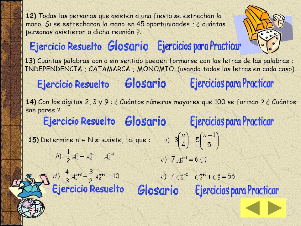 17) a) Para hallar el undécimo término sin efectuar el desarrollo de Aplicamos la fórmula donde a = 2 x 2 ; b = - x ; n = 15 y k = 11 Tenga presente que (–x) 10 = [(-1) 10 x 10 ] b) Calcular el o los términos centrales de Si n = 9 el desarrollo tiene 10 términos, entonces hay 2 términos centrales hacemos términos centrales son el 5º y 6º comprobamos 18 c-d 18 c-d 18 e 18 e
