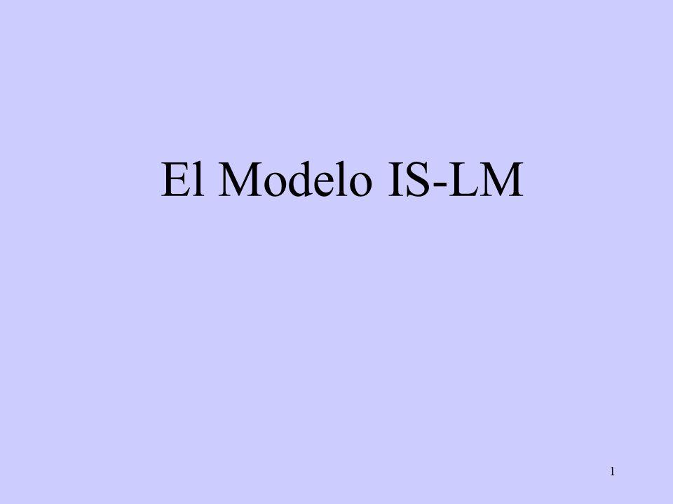 1 El Modelo IS-LM