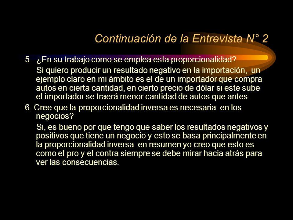 Entrevista N° 2 1. Cuál es su nombre. Cristian Céspedes 2.
