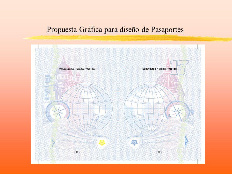 Propuesta Gráfica para diseño de Pasaportes