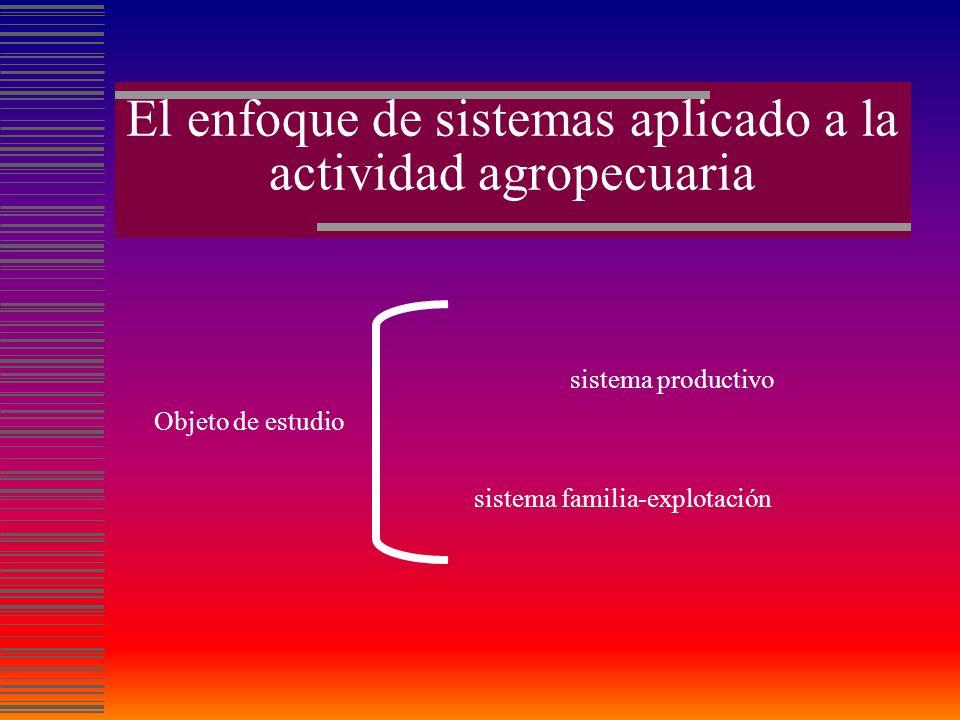 enfoque cartesianoenfoque sistémico principio Desagregar el todo en sus partes constitutivas Considerar los componentes en sus interrelaciones.