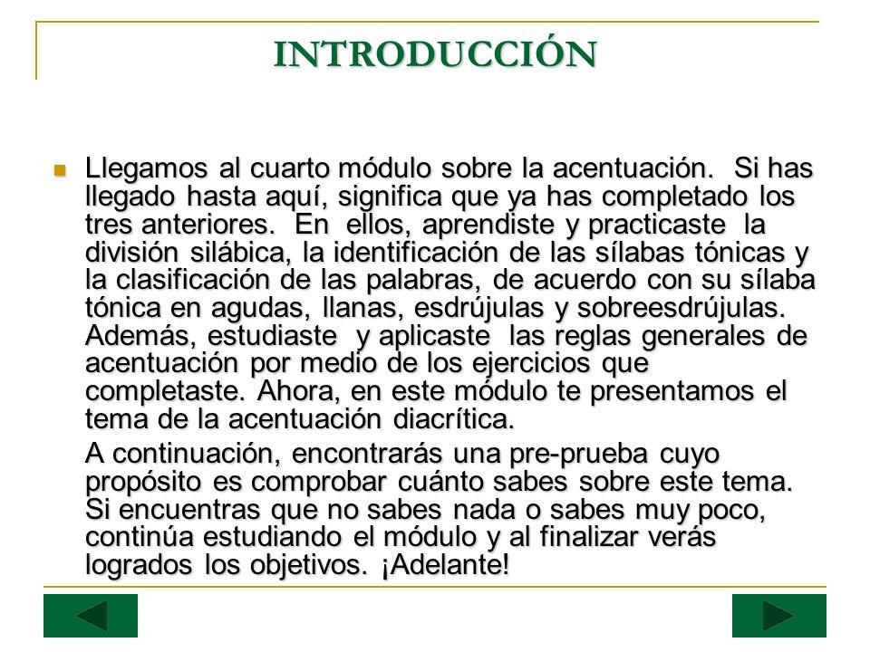 ACTIVIDAD #1 PRE-PRUEBA (50 puntos) En las siguientes oraciones se ha omitido el acento diacrítico.