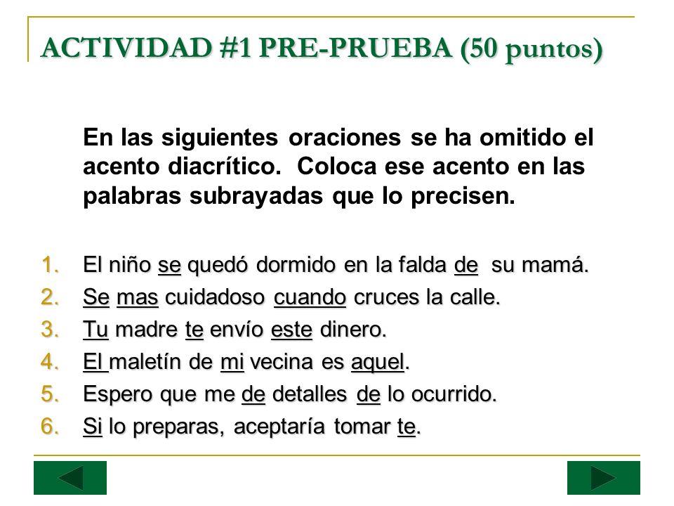 EVALUACIÓN DE LA POS-PRUEBA