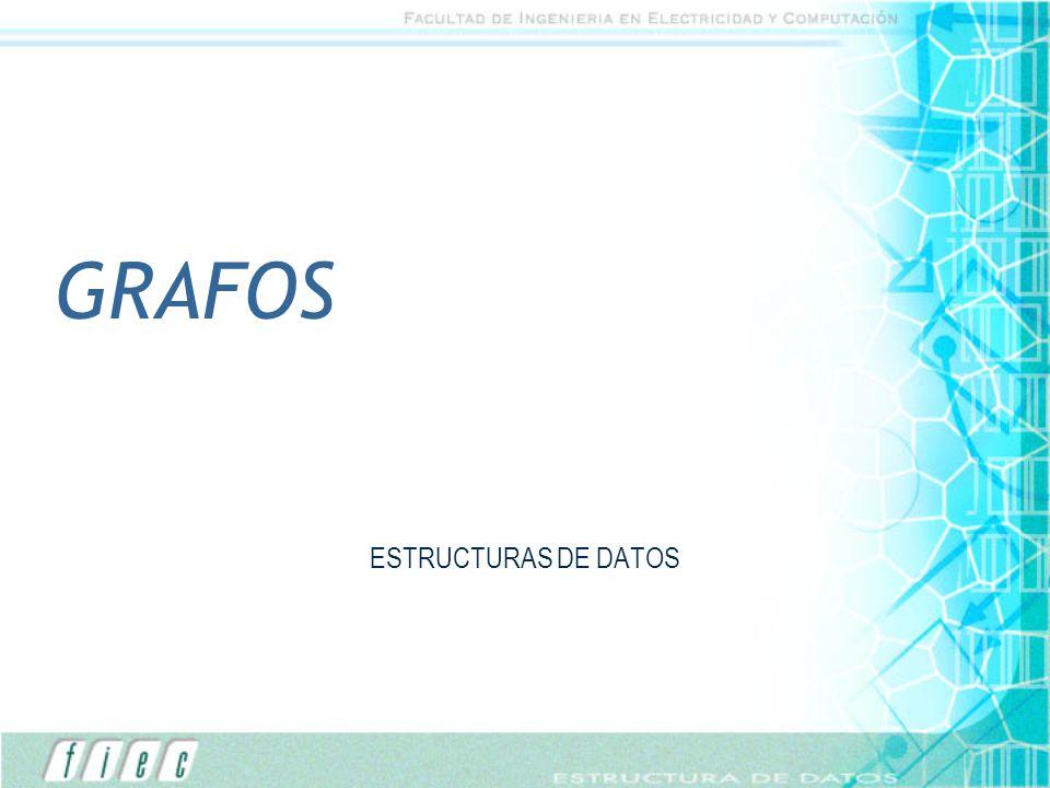 GRAFOS ESTRUCTURAS DE DATOS