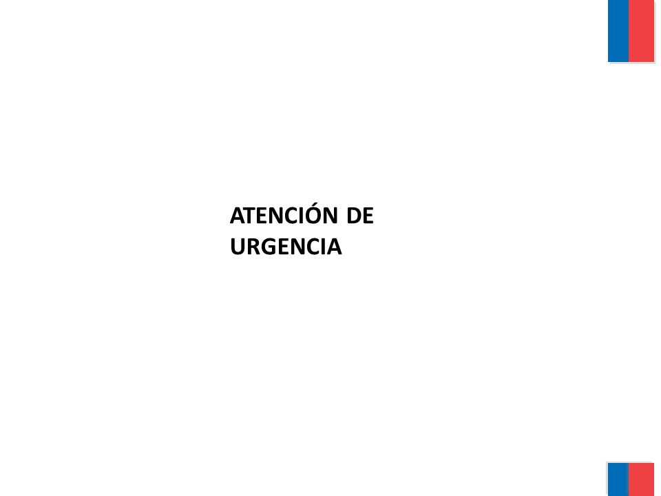 ATENCIÓN DE URGENCIA